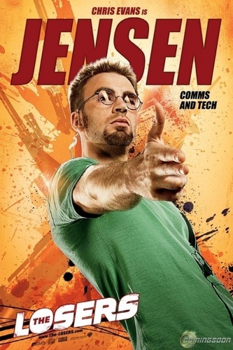 Chris Evans - The Losers Poster