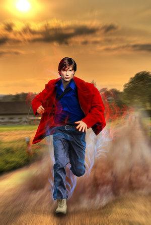 Clark Kent Superspeed