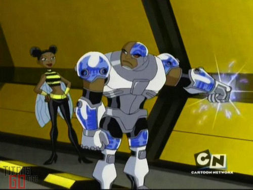 Cyborg and Bumblebee