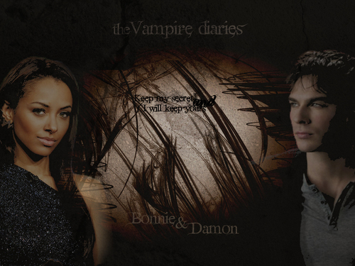 The Vampire Diaries Couples 바탕화면 titled D/B 바탕화면