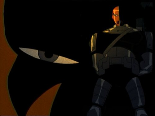 Teen Titans Hintergrund entitled Deathstroke ( Slade )