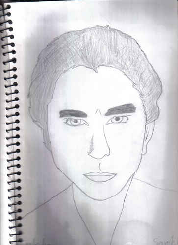 Edward Cullen Drawing - drawing Photo