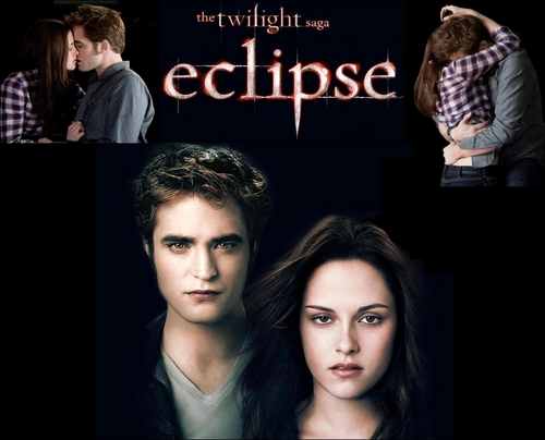 Edward and Bella/Eclipse wallpaper