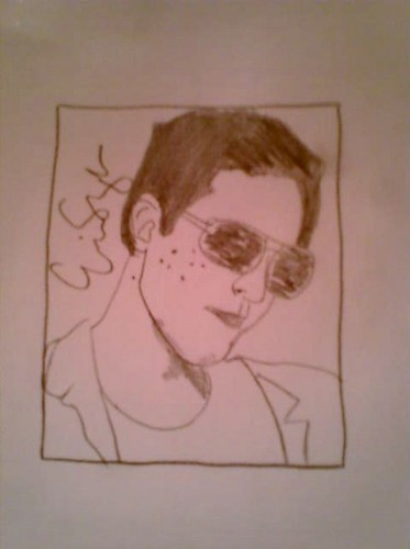 Eric Szmanda Drawing