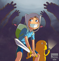 Finn Anime - adventure-time-with-finn-and-jake fan art