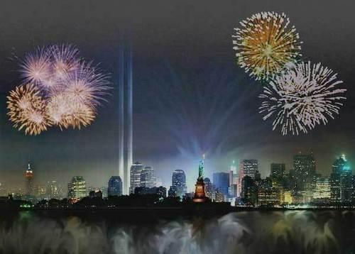 Fireworks at NY