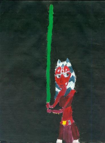 GalindaGirl's Ahsoka art