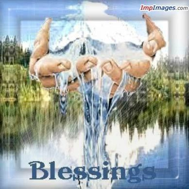 God's blessings to 你