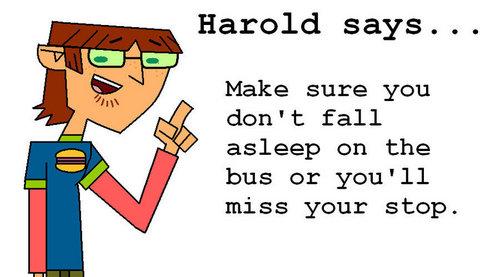 Harold's 建议