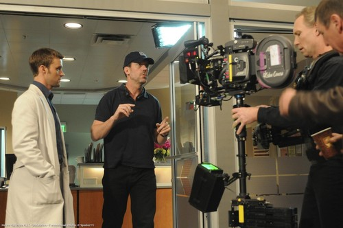 Hugh Directing 17
