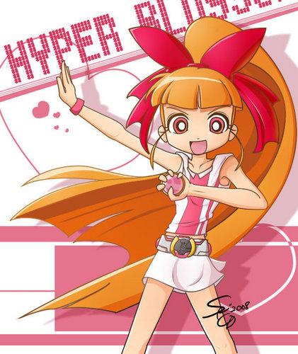 powerpuff girls Z wallpaper called Hyper Blossom