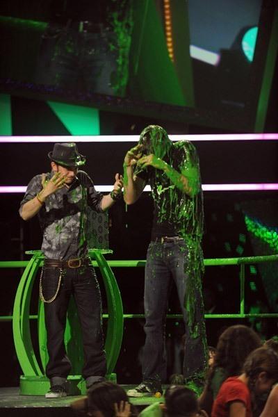 Jackson Rathbone at the Kid's Choice Awards!
