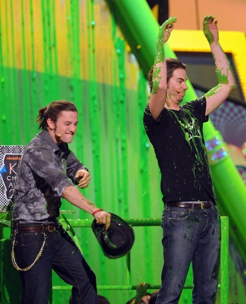 Jackson Rathbone at the Kid's Choice Awards!