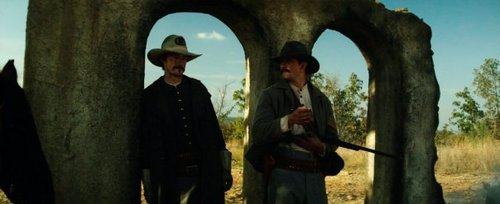 James and Rob in The Legend of Hell's Gate: An American Conspiracy