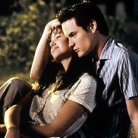 Nicholas Sparks' novels & movies wallpaper called Jamie & Landon (A Walk to Remember)