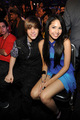 Jasmine and Justin Bieber, Kids Choice Awards March 27