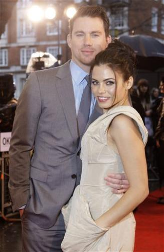 Jenna Dewan and Channing Tatum @ Dear John Premiere, Londres