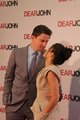 Jenna Dewan and Channing Tatum @ Dear John Premiere, London