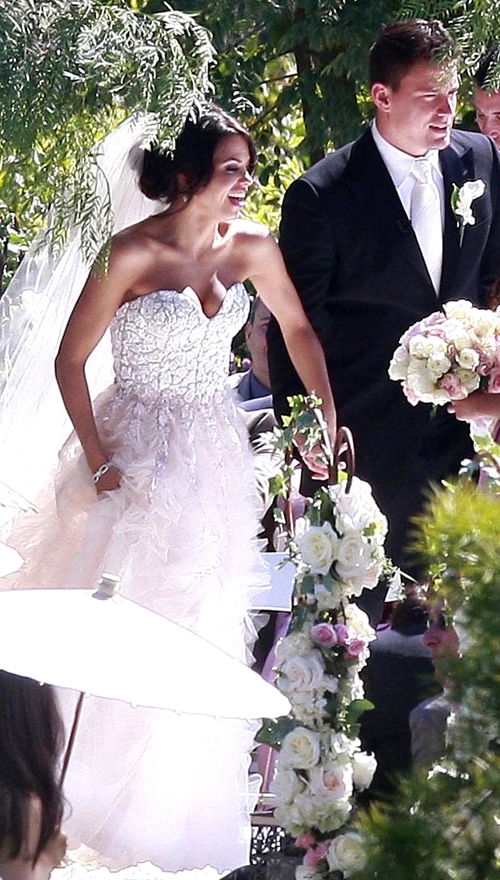 channing tatum and jenna dewan wedding. Jenna and Channing Wedding