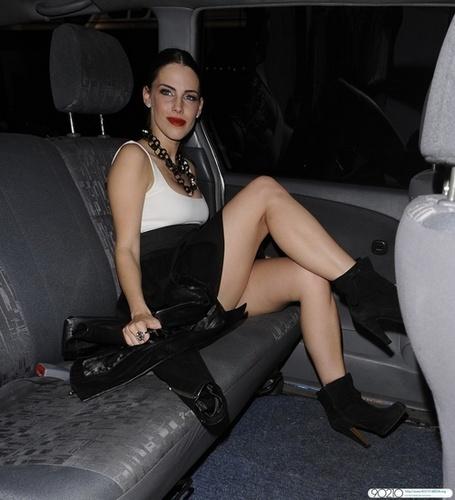 Jessica Lowndes Leaving MOVIDA NIGHTCLUB in MAyfair