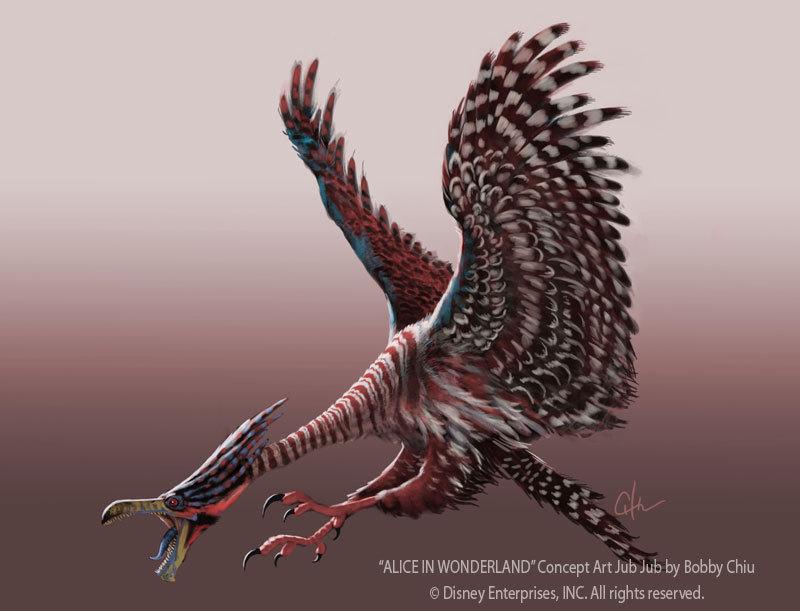 Jub Jub Bird Concept Art