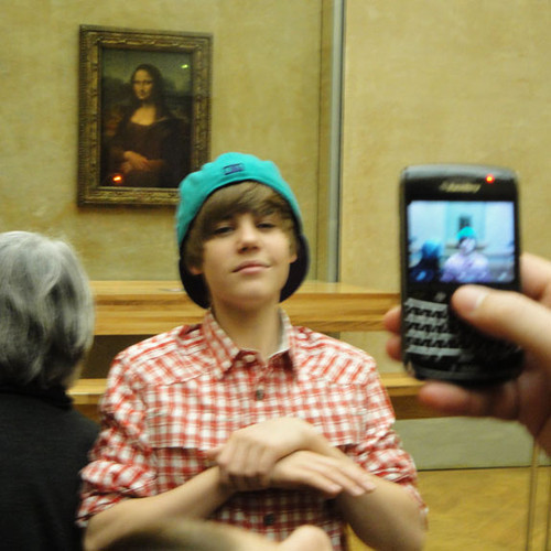 Justin Bieber  Mona Lisa - justin-bieber photo