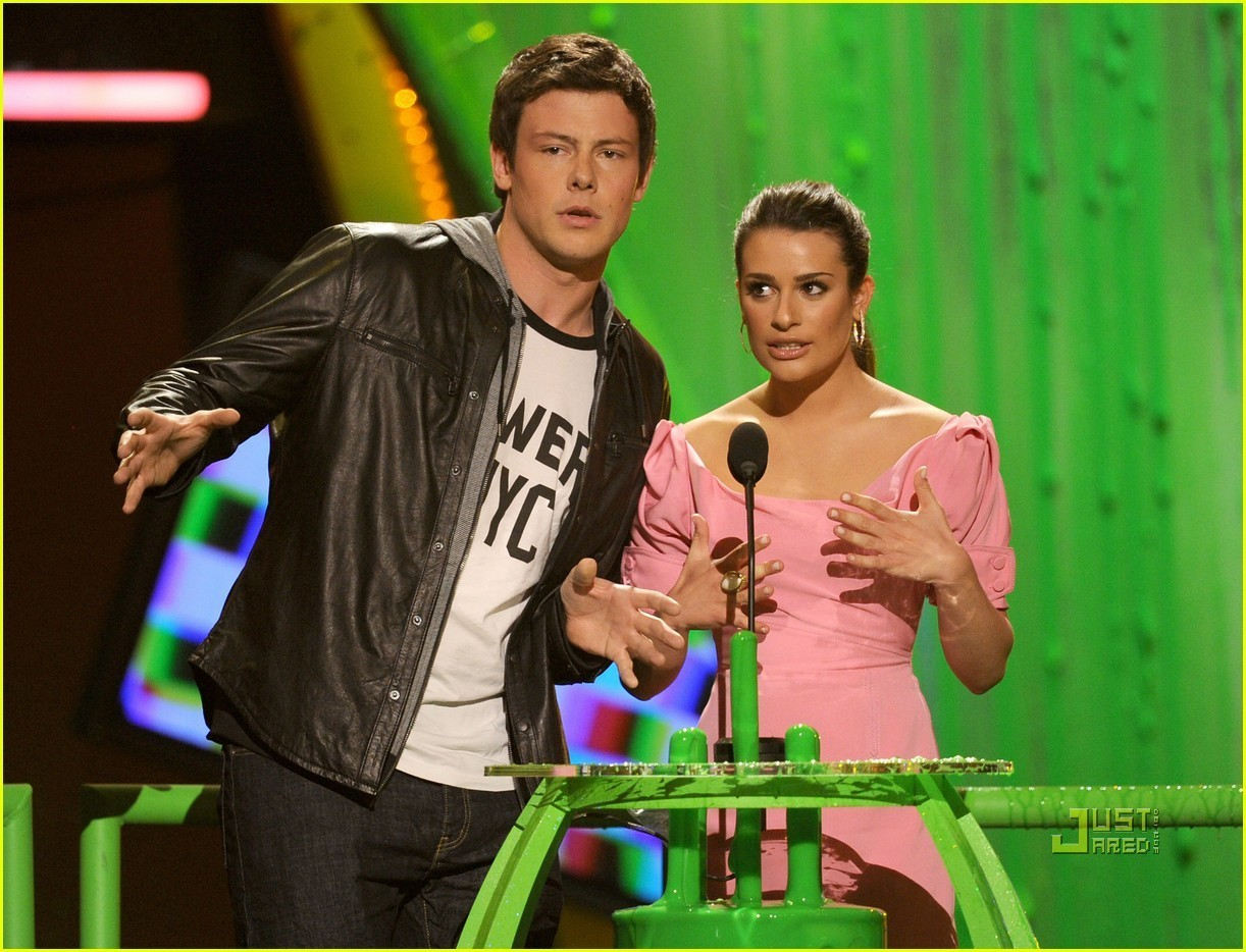 Lea Michele & Cory Monteith: