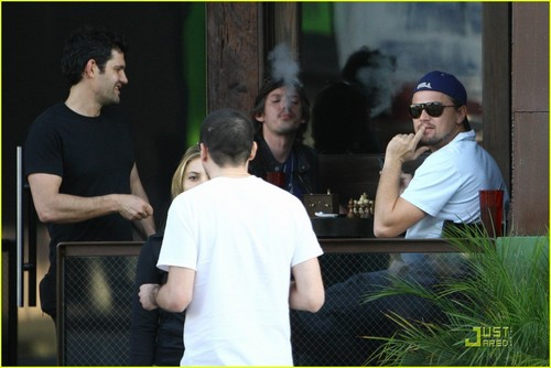 Leo out in Beverly Hills