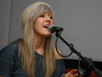 Live Lounge (Feb 23rd) - ellie-goulding Photo