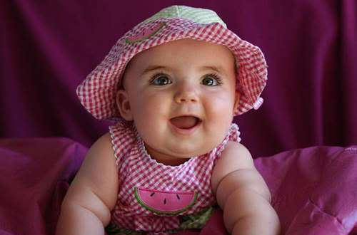 Sweety Babies achtergrond entitled Lovely Baby