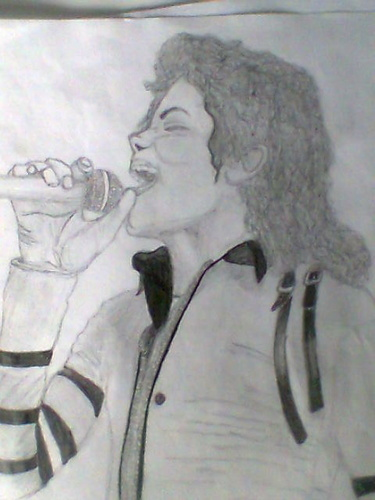 MJ bad tour drawing :)