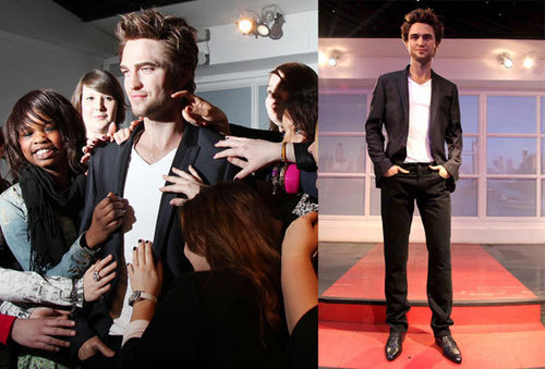Madame Tussauds unveils RPatz as new waxwork amidst screaming fan