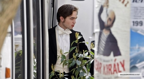March 29, 2010: Filming 'Bel Ami'