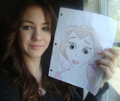 Me and My Belle Drawing