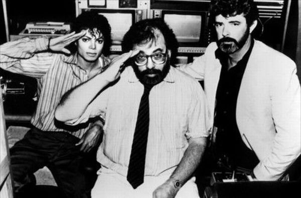 Michael Jackson, Francis Ford Coppola, George Lucas