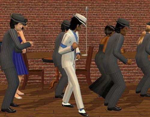 Michael Jackson Sims