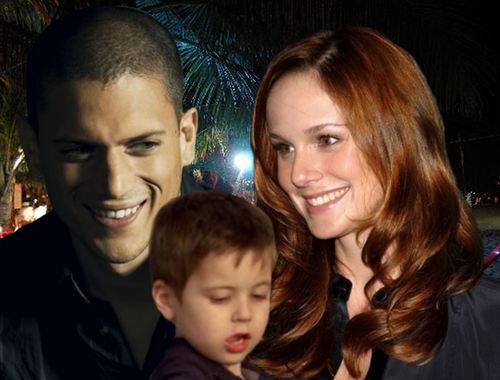 Michael, Sara and little MJ