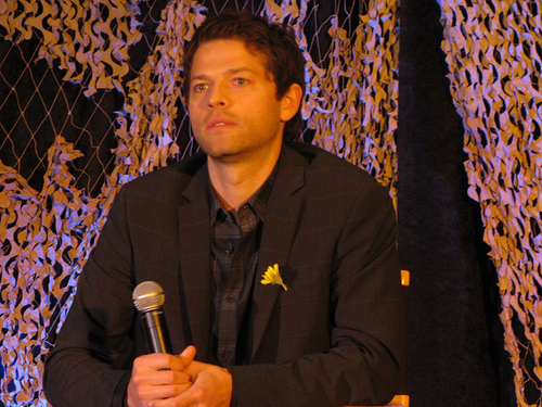 Misha Collins at L Con '10