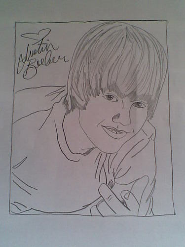 My Drawing Of JB