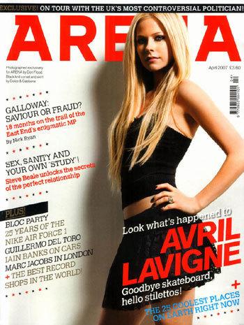 New Avril Magazine Cover