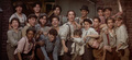 christian-bale - Newsies Group Shot screencap