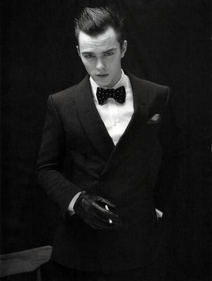 Nicholas Hoult: GQ Style Italy Spring 2010