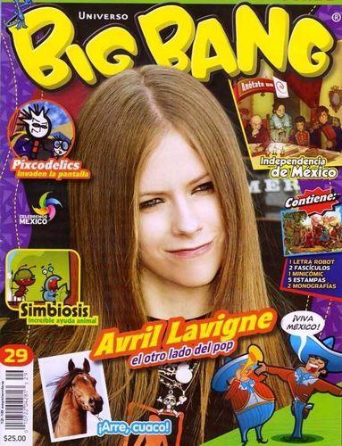 Old Avril Magazine cover