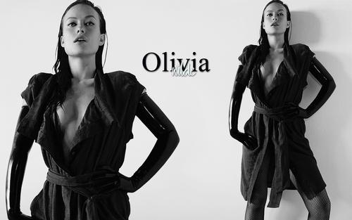 Olivia wallpaper