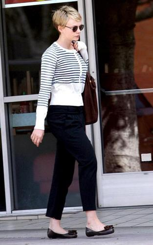 Out in Westwood, California (March 26)