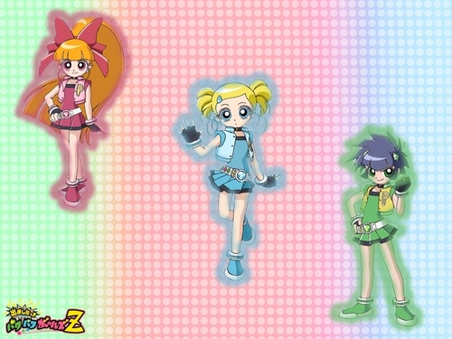 powerpuff girls Z wallpaper entitled PPGZ wallpaper