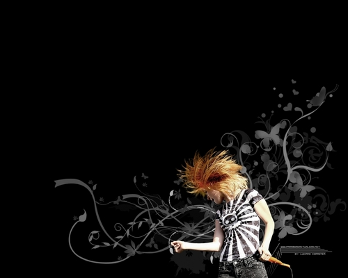 Paramore: Hayley Williams (Wallpaper)