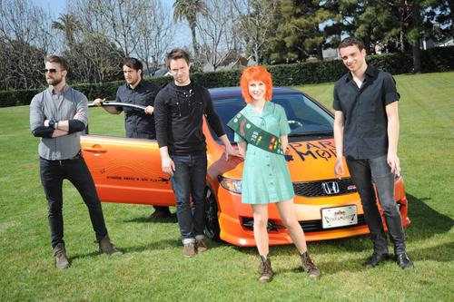 Paramore: The 2010 Honda Civic Tour.