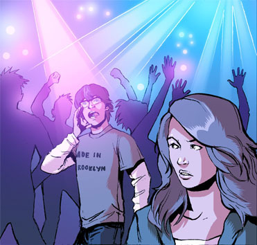 Preview Panel From The Mortal Instruments Comic