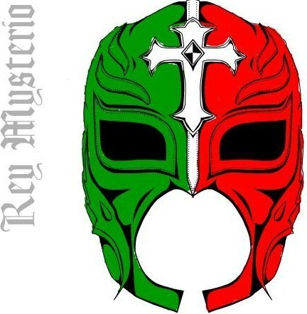 Rey Mysterio wallpaper titled REY MYSTERIO MASK MEXICO